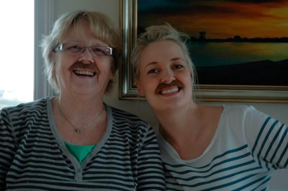 Helga og ég