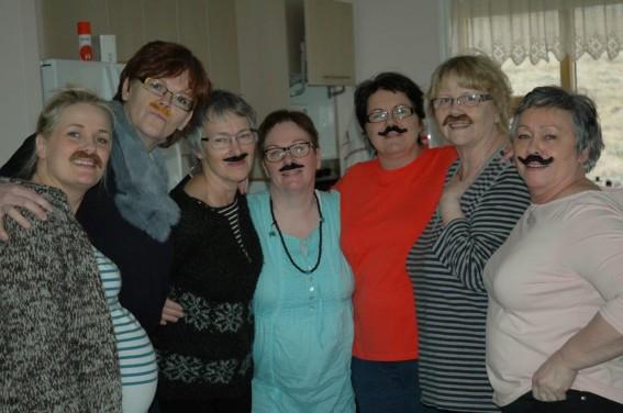 Ég, Edda, Magga, Villa, Dóra, Helga og Brynja